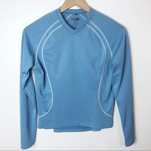 REI Long Sleeved Blue Active Top, S